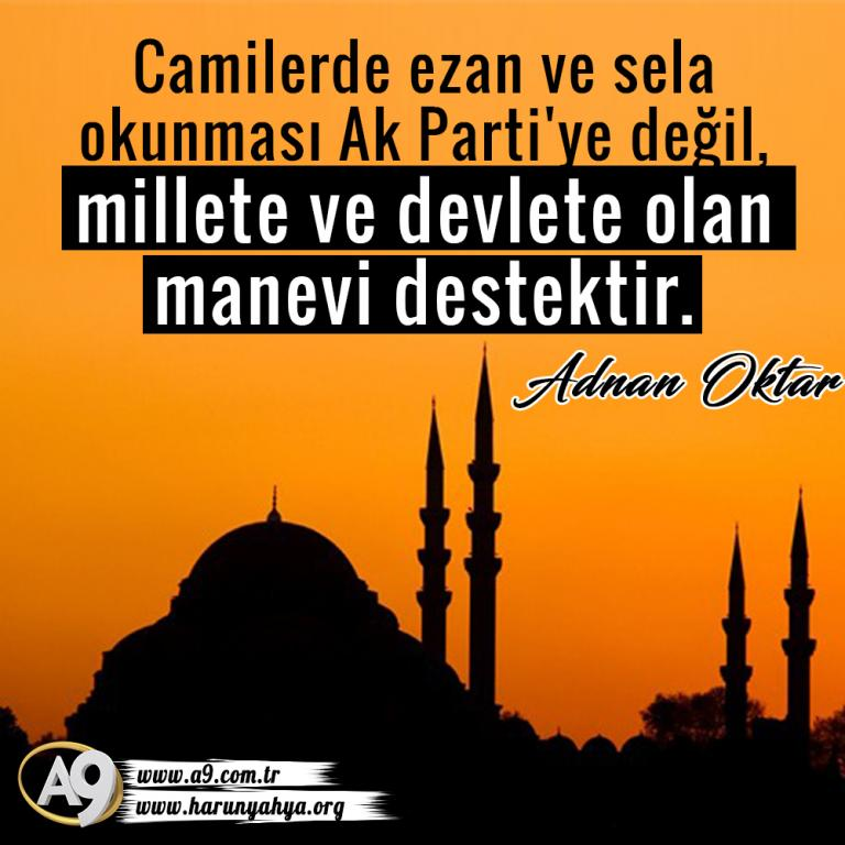 "<table style=""width: 100%;""><tr><td style=""vertical-align: middle;"">Camilerde ezan ve sela okunması Ak Parti""ye değil, millete ve devlete olan manevi destektir.</td><td style=""max-width: 70px;vertical-align: middle;""> <a href=""/downloadquote.php?filename=quoteofday_14687848518592.jpg""><img class=""hoversaturate"" height=""20px"" src=""/assets/images/download-iconu.png"" style=""width: 48px; height: 48px;"" title=""Resmi İndir""/></a></td></tr></table>"