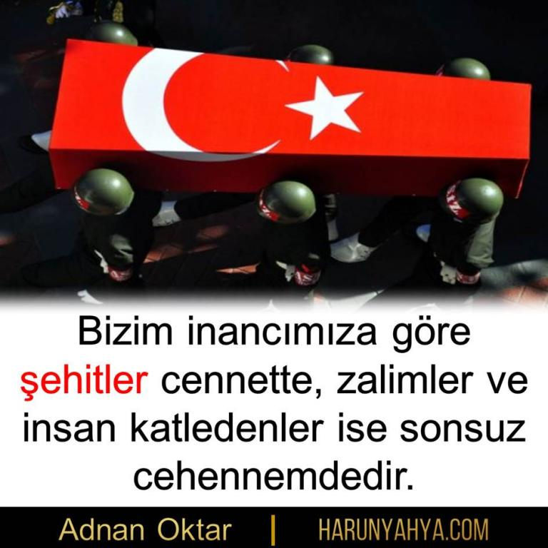 "<table style=""width: 100%;""><tr><td style=""vertical-align: middle;"">Bizim inancımıza göre şehitler cennette, zalimler ve insan katledenler ise sonsuz cehennemdedir.</td><td style=""max-width: 70px;vertical-align: middle;""> <a href=""/downloadquote.php?filename=quoteofday_14689312255697.JPG""><img class=""hoversaturate"" height=""20px"" src=""/assets/images/download-iconu.png"" style=""width: 48px; height: 48px;"" title=""Resmi İndir""/></a></td></tr></table>"
