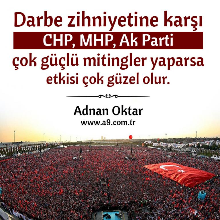 "<table style=""width: 100%;""><tr><td style=""vertical-align: middle;"">Darbe zihniyetine karşı CHP, MHP, Ak Parti çok güçlü mitingler yaparsa etkisi çok güzel olur.</td><td style=""max-width: 70px;vertical-align: middle;""> <a href=""/downloadquote.php?filename=quoteofday_14695431926191.jpg""><img class=""hoversaturate"" height=""20px"" src=""/assets/images/download-iconu.png"" style=""width: 48px; height: 48px;"" title=""Resmi İndir""/></a></td></tr></table>"