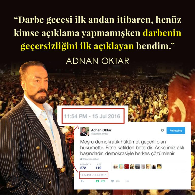 "<table style=""width: 100%;""><tr><td style=""vertical-align: middle;"">Darbe gecesi ilk andan itibaren, henüz kimse açıklama yapmamışken darbenin geçersizliğini ilk açıklayan bendim.</td><td style=""max-width: 70px;vertical-align: middle;""> <a href=""/downloadquote.php?filename=quoteofday_14743272546506.jpg""><img class=""hoversaturate"" height=""20px"" src=""/assets/images/download-iconu.png"" style=""width: 48px; height: 48px;"" title=""Resmi İndir""/></a></td></tr></table>"